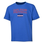 Cape Verde Youth Football T-Shirt (Royal)