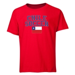 Chile Youth Soccer T-Shirt (Red)