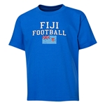 Fiji Youth Football T-Shirt (Royal)