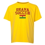 Ghana Youth Soccer T-Shirt (Yellow)