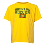 Grenada Youth Soccer T-Shirt (Yellow)