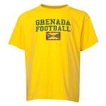 Grenada Youth Football T-Shirt (Yellow)