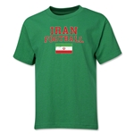Iran Youth Football T-Shirt (Green)