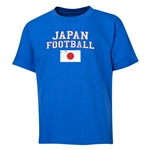 Japan Youth Football T-Shirt (Royal)