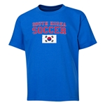 South Korea Youth Soccer T-Shirt (Royal)