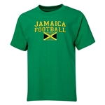 Jamaica Youth Soccer T-Shirt (Green)