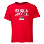 Serbia Youth Soccer T-Shirt (Red)