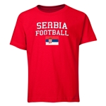 Serbia Youth Football T-Shirt (Red)
