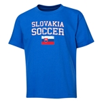 Slovakia Youth Soccer T-Shirt (Royal)