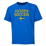 Sweden Youth Soccer T-Shirt (Royal)