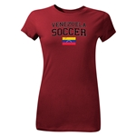 Venezuela Youth Soccer T-Shirt (Maroon)