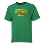 Zimbabwe Youth Football T-Shirt (Green)
