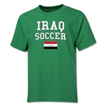 Iraq Youth Soccer T-Shirt (Green)