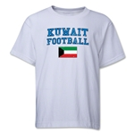 Kuwait Youth Football T-Shirt (White)