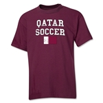 Qatar Youth Soccer T-Shirt (Maroon)