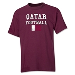Qatar Youth Football T-Shirt (Maroon)