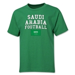 Saudi Arabia Youth Football T-Shirt (Green)