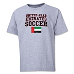 United Arab Emirates Youth Soccer T-Shirt (Grey)