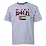 United Arab Emirates Youth Football T-Shirt (Grey)