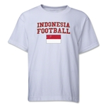 Indonesia Youth Football T-Shirt (White)