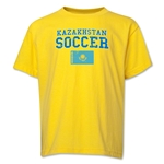 Kazakhstan Youth Soccer T-Shirt (Yellow)