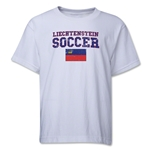 Liechtenstein Youth Soccer T-Shirt (White)