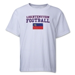 Liechtenstein Youth Football T-Shirt (White)
