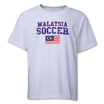 Malaysia Youth Soccer T-Shirt (White)