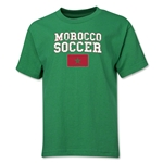 Morocco Youth Soccer T-Shirt (Green)