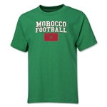 Morocco Youth Football T-Shirt (Green)