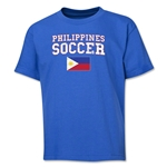 Philippines Youth Soccer T-Shirt (Royal)