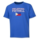 Philippines Youth Football T-Shirt (Royal)