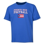Puerto Rico Youth Football T-Shirt (Royal)
