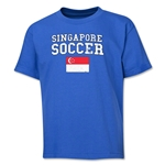 Singapore Youth Soccer T-Shirt (Royal)