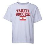 Tahiti Youth Soccer T-Shirt (White)