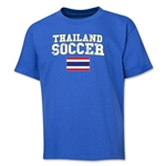 Thailand Youth Soccer T-Shirt (Royal)