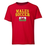 Wales Youth Soccer T-Shirt (Red)