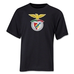 Benfica Youth Soccer T-Shirt (Black)