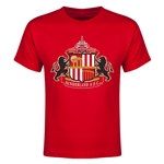 Sunderland Core Youth T-Shirt (Red)