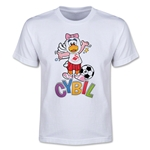 Swansea City Cybil Youth T-Shirt (White)