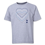 Tottenham Heart Youth T-Shirt (Gray)