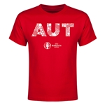 Austria Euro 2016 Elements Youth T-Shirt (Red)