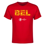 Belgium Euro 2016 Elements Youth T-Shirt (Red)