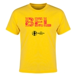 Belgium Euro 2016 Elements Youth T-Shirt (Yellow)