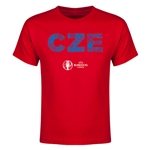 Czech Republic Euro 2016 Elements Youth T-Shirt (Red)