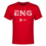England Euro 2016 Elements Youth T-Shirt (Red)