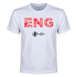 England Euro 2016 Elements Youth T-Shirt (White)