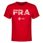 France Euro 2016 Elements Youth T-Shirt (Red)