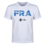 France Euro 2016 Elements Youth T-Shirt (White)