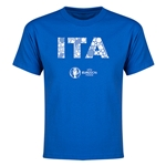 Italy Euro 2016 Elements Youth T-Shirt (Royal)